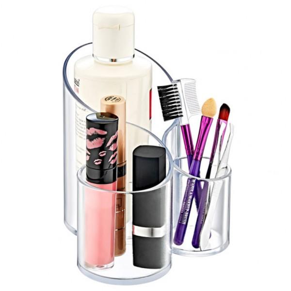 Органайзер за козметика с 3 отделения поставка за гримове химикали