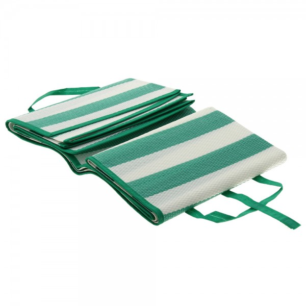 Постелка за пикник двустранна рогозка за плаж 90x168cm