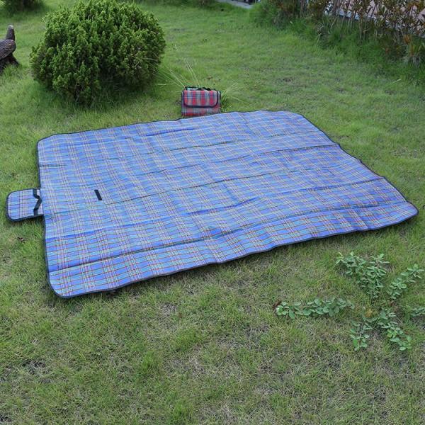 Водонепропусклива постелка за пикник къмпинг плаж пикник одеало 145x180cm