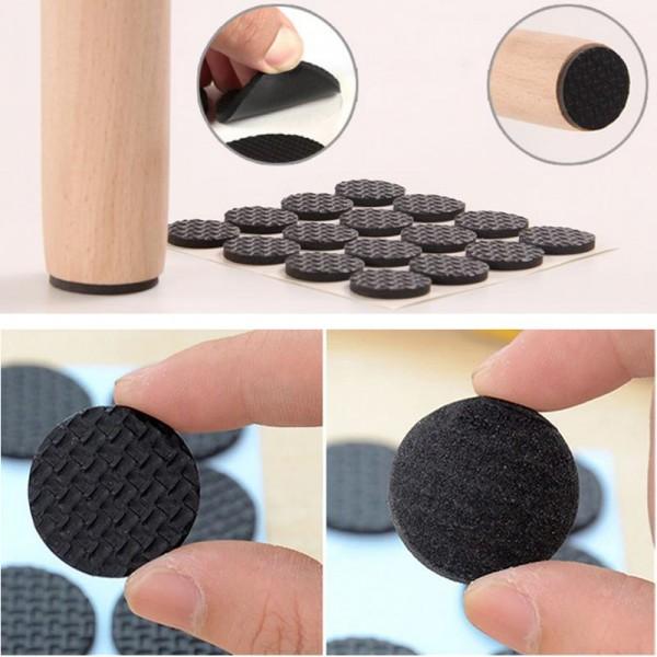 Самозалепващи подложки за мебели протектор в кръгла форма 18 бр/комплект