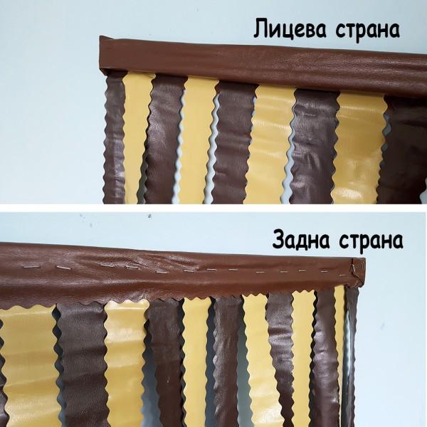 Ресни за врата PVC завеса цветни ленти за врата 87x200cm