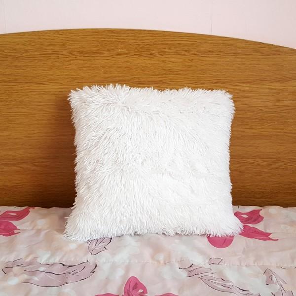 Декоративна калъфка за възглавница Шаги калъфка Shaggy 40x40cm