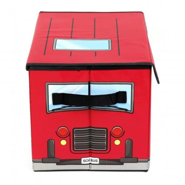 Детска сгъваема кутия за съхранение на играчки АВТОБУС