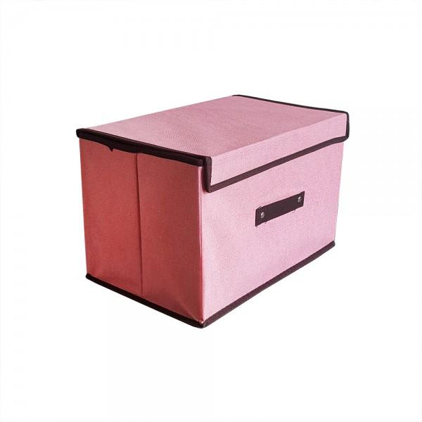 Текстилна сгъваема кутия за съхранение органайзер за гардероб