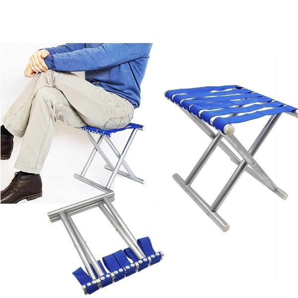Сгъваемо рибарско столче за къмпинг преносима табуретка
