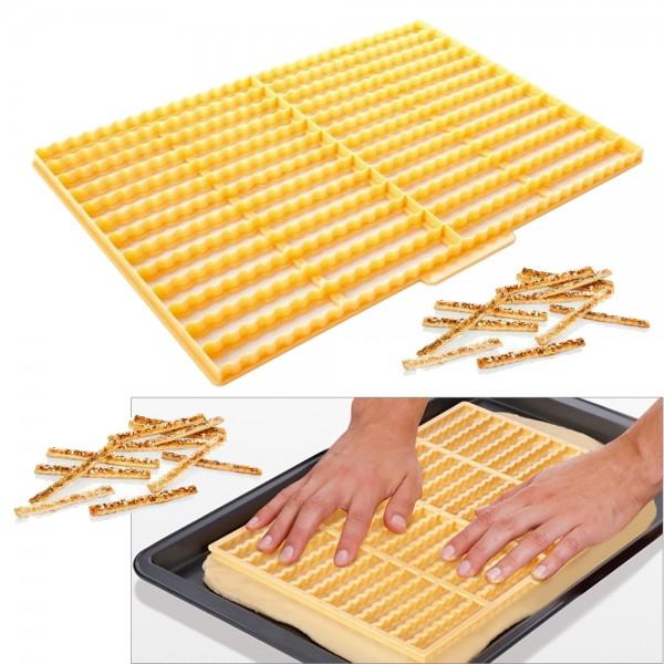 Резец шаблон за изрязване на соленки гризини солети