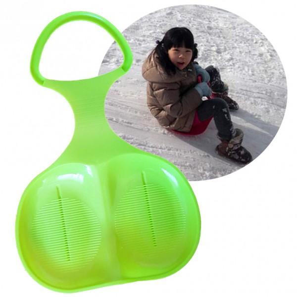 Детска шейна тобоган пластмасова седалка за спускане пързаляне