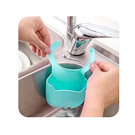 Силиконова поставка за гъба органайзер за мивка