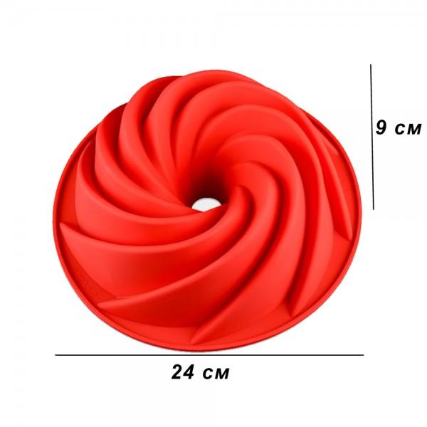 Силиконова форма за кекс спирала