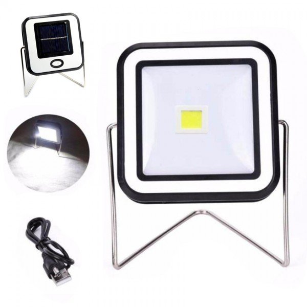 Соларна къмпинг лампа на стойка