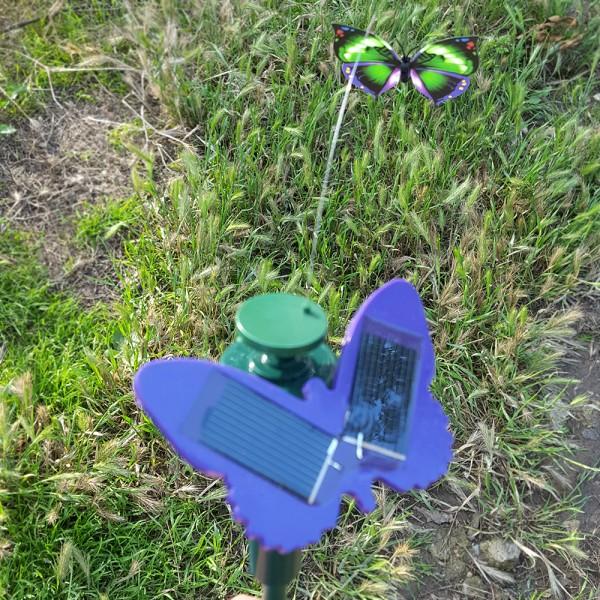 Градинска соларна летяща пеперуда декорация за градина балкон