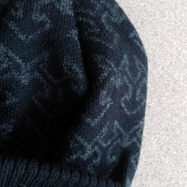 Черна зимна мъжка шапка спортна шапка за мъже универсален размер