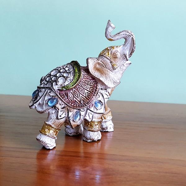 Статуетка сувенир слонче фигура подарък за дом офис
