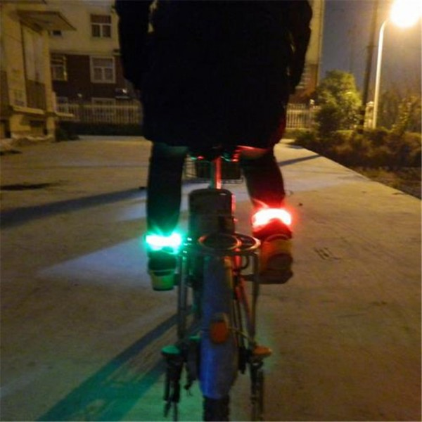 Аварийна светеща LED лента за ръка светлоотразителна гривна за колоездачи