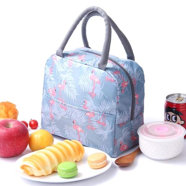 Малка термо чанта за храна и напитки чанта за детска кухня училище плаж