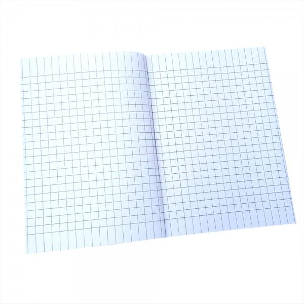 Тетрадка големи квадрати малък формат A5 20 листа офсетова хартия