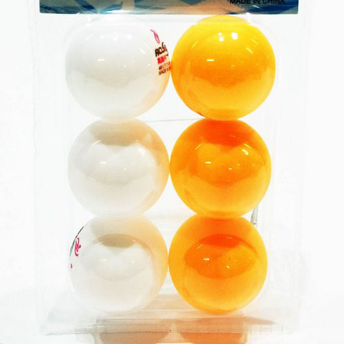 Комплект топчета за тенис на маса 6 броя