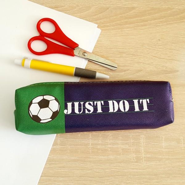 Ученически несесер за моливи за момчета Just do it несесер за училище