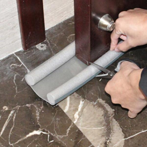 Двоен уплътнител за врата двоен стопер изолация за под врата
