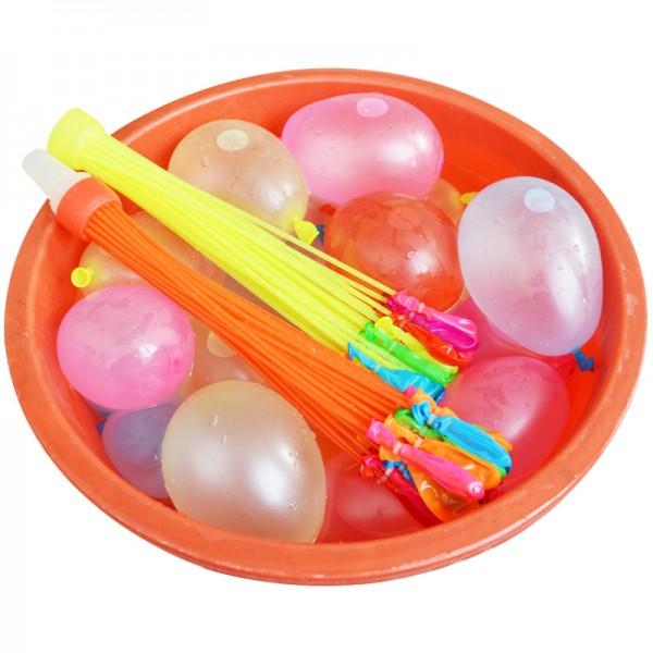 Балони водни бомби парти балони връзка с 37 броя балончета водна бомба