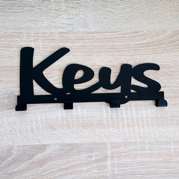 Метална закачалка Keys стенна закачалка за ключове