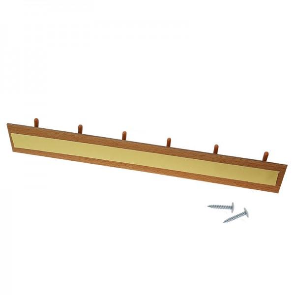 Стенна лепяща закачалка с 6 куки закачалка за стена