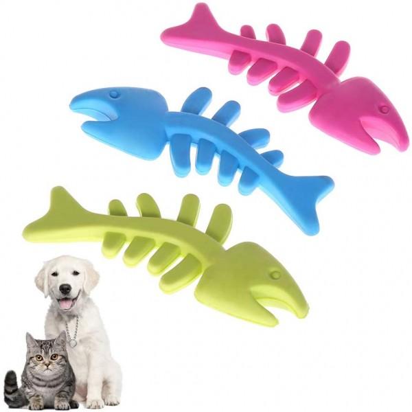 Гумена играчка за куче риба кучешки играчки за дъвчене