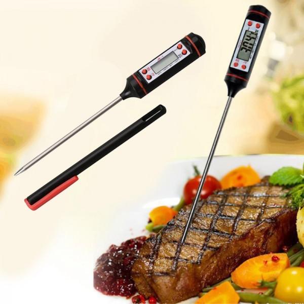 Дигитален кухненски термометър за месо барбекю храни течности