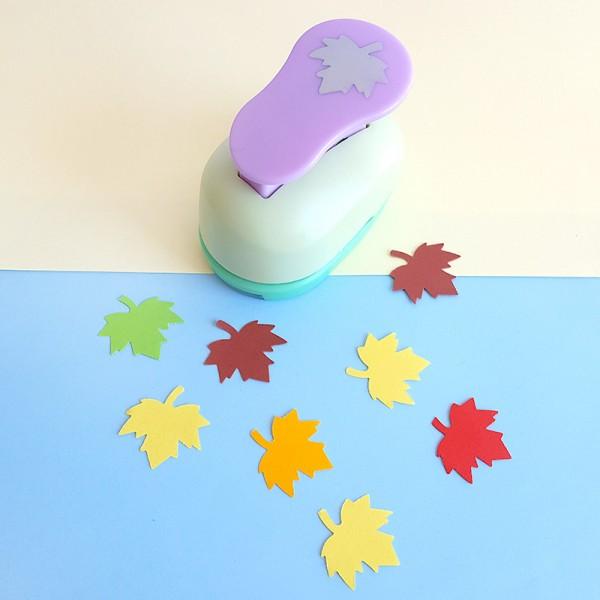 Перфоратор пънч есенно листо