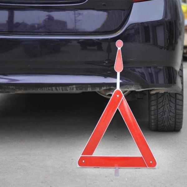 Сгъваем авариен триъгълник за автомобил светлоотразител на стойка