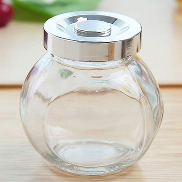Комплект стъклени бурканчета за подправки 4 броя