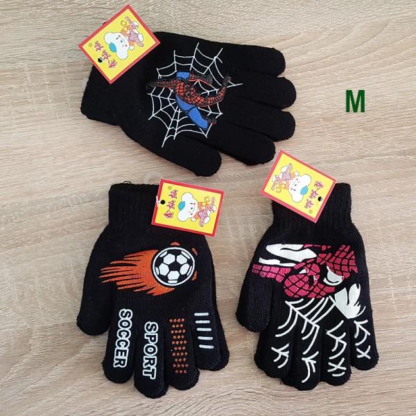 Детски ръкавици за момче с пръсти Спайдърмен футбол 3-6 години
