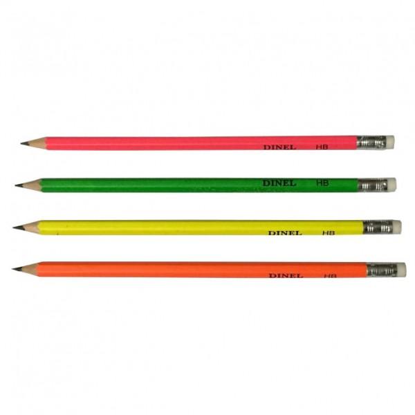 Графитен молив с гума DINEL