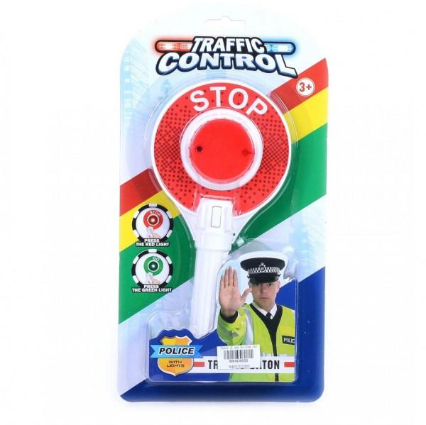 Детска полицейска стоп палка светеща играчка