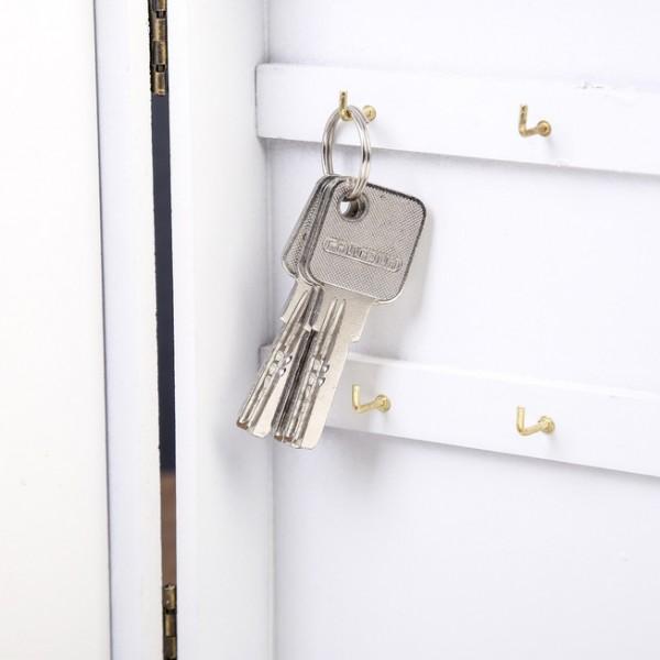 Малка къщичка за ключове LAVENDER декоративна кутия органайзер