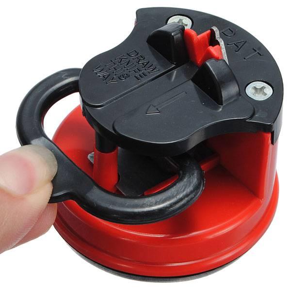 Ръчен уред за наточване с вакуумно закрепване