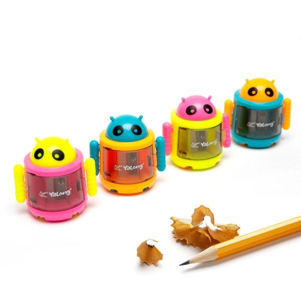 Острилка за моливи с форма на андроид робот