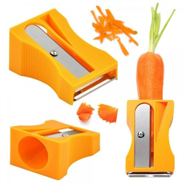 Острилка за моркови белачка ренде уред за декорация на зеленчуци и плодове
