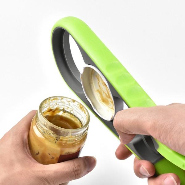 Универсална силиконова отварачка за буркани и бутилки на винт