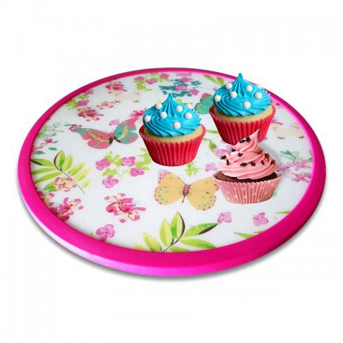 Въртяща поставка за торта работна стойка за торта декорация на сладкиши
