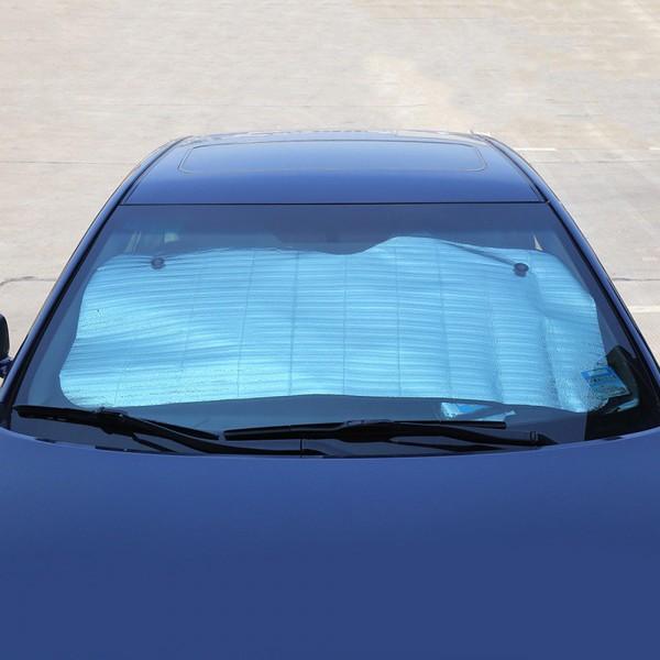 Сенник за предно стъкло на автомобил покривало за кола 130x60cm