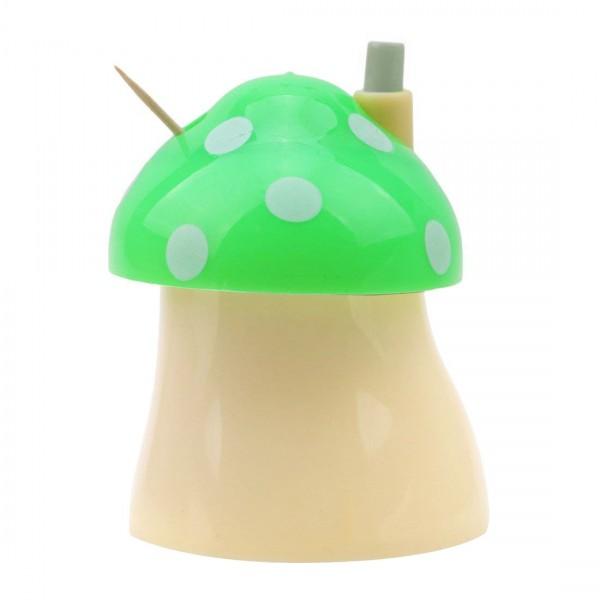 Декоративна поставка за клечки за зъби Гъбка автоматичен диспенсър кутия