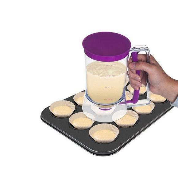 Дозатор диспенсър за тесто понички мъфини кухненски помощник Batter Dispenser