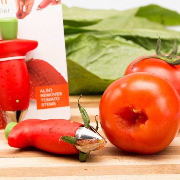 Ръчен уред за чистене на ягоди и домати почистване на дръжките