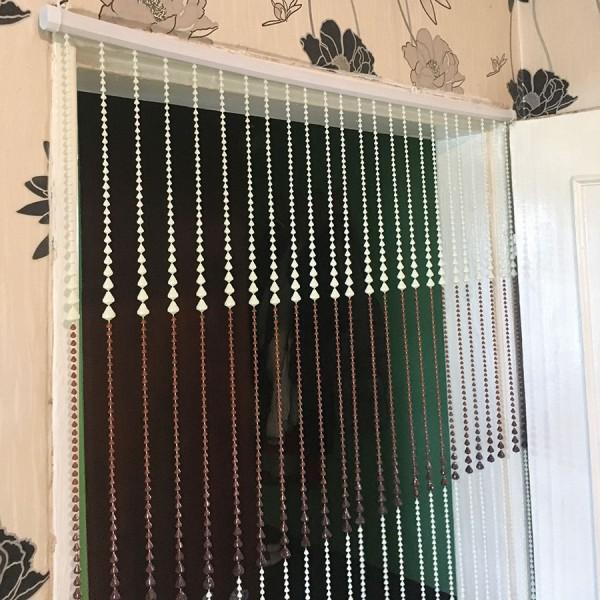 Ресни завеса за врата от PVC мъниста