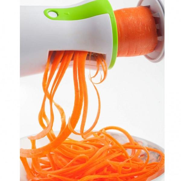 Спираловидна резачка за зеленчуци на ивици резачка за зеленчукови спирали и декорация