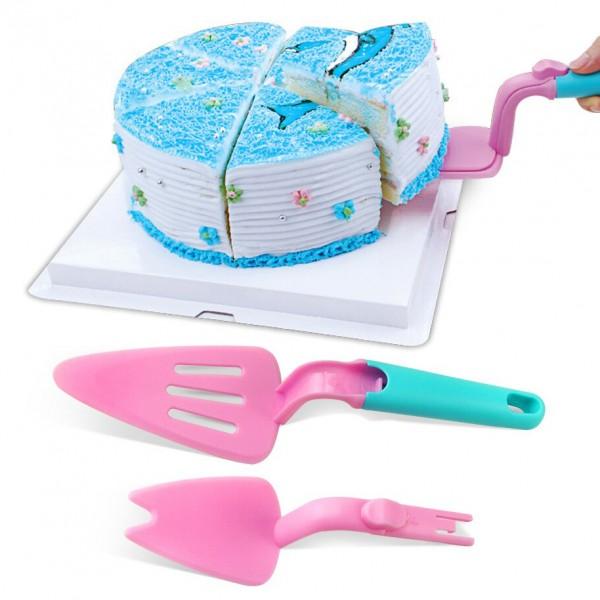 Лопатка за торта с плъзгач за лесно сервиране на сладкиши
