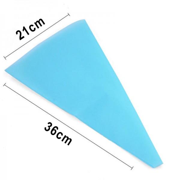 Сладкарски силиконов пош за многократна употреба 36см