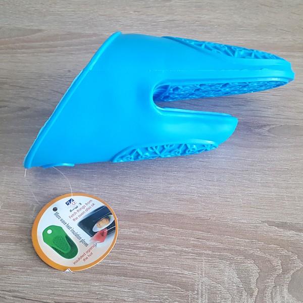 Силиконова ръкавица за горещо или студено ръкохватка за горещи съдове