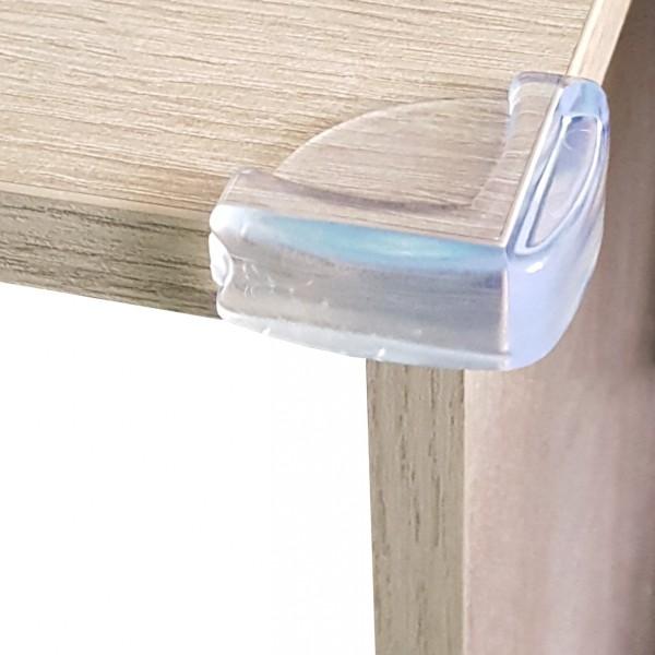 Комплект силиконови предпазители за ъгли на маса 4бр